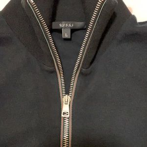 Authentic Gucci Zipup bomber style thick sz large